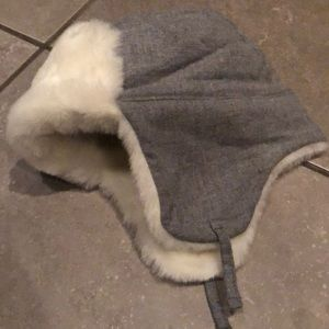NWT Trapper Faux Fur Hat